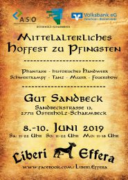 Hoffest zu Pfingsten 2019 auf Gut Sandbeck